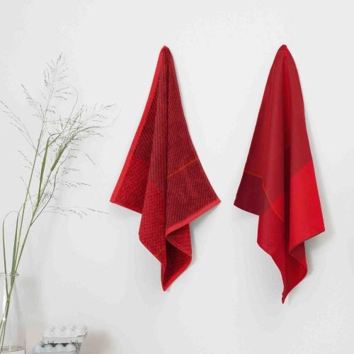 DDDDD theedoek Blend (fire red)