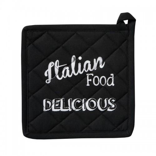 DDDDD pannenlap Italian Food Black