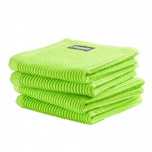 DDDDD vaatdoek basic (4-pack, bright green)