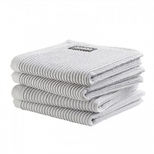 DDDDD vaatdoek basic (4-pack, neutral light grey)