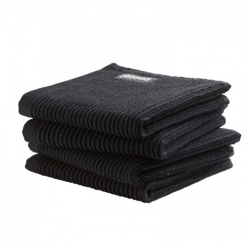 DDDDD vaatdoek basic (4-pack, neutral black)