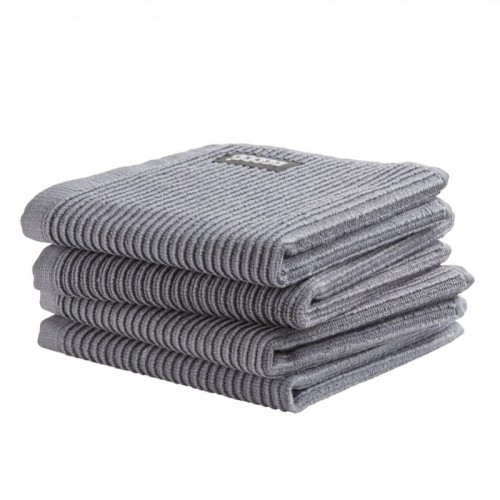 DDDDD vaatdoek basic (4-pack, neutral grey)