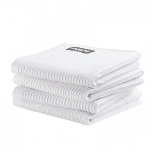 DDDDD vaatdoek basic (4-pack, neutral white)