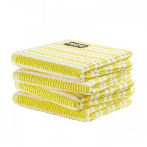 DDDDD vaatdoek classic (4-pack, bright yellow)