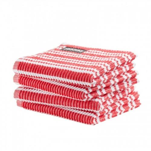 DDDDD vaatdoek classic (4-pack, classic red)