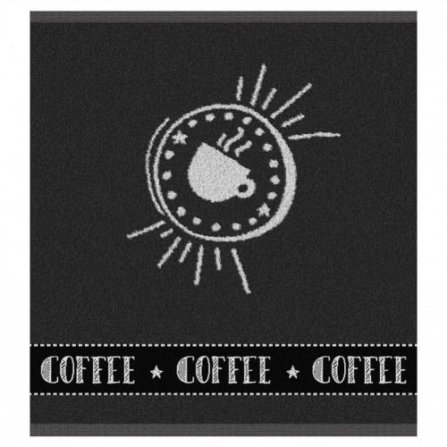 DDDDD keukendoek Hello Coffee (antraciet)