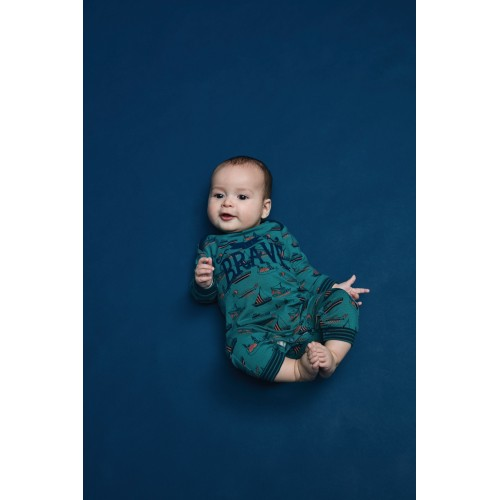 Charlie Choe baby jumpsuit Be Brave (D37064-42)