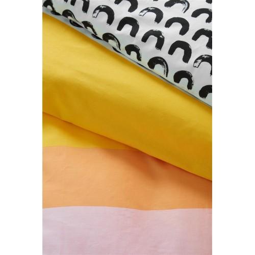 Beddinghouse peuterdekbedovertrek Mette (geel)