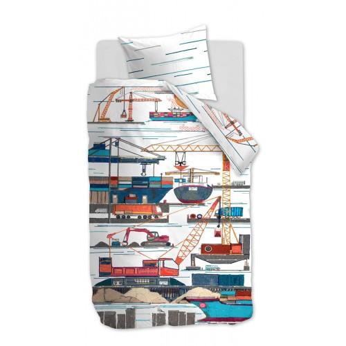 Beddinghouse peuterdekbedovertrek Seaport (multi)