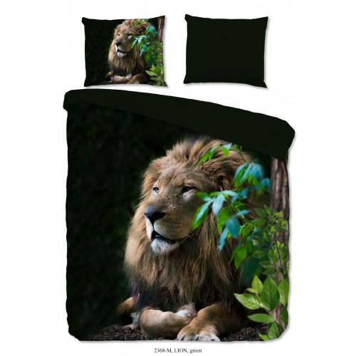 Pure dekbedovertrek Lion (2368, groen)