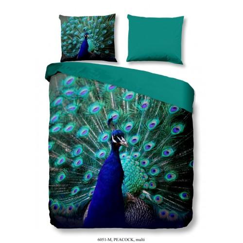 Pure dekbedovertrek Peacock (6051, multi)