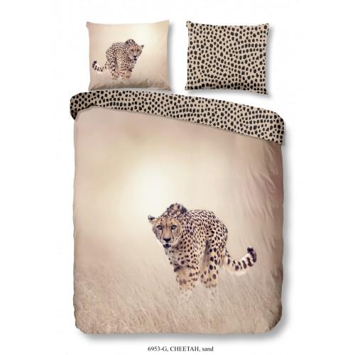 Goodmorning dekbedovertrek Cheetah (6953, zand)