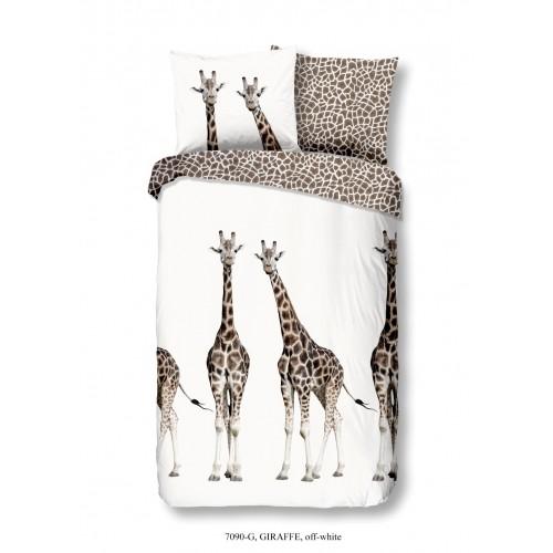 Giraffe dekbedovertrek 140x200/220 (7090, offwhite)