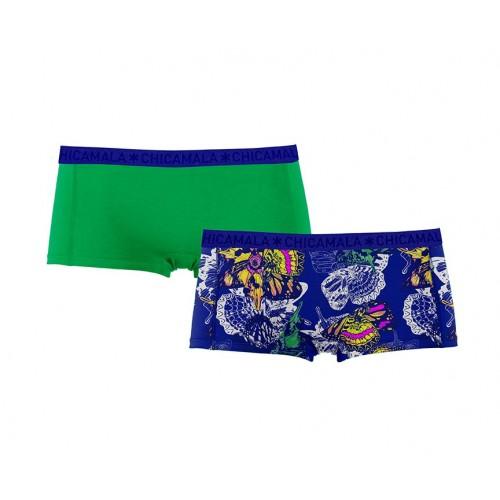 ChicaMala meisjes boxershort 1215Insec01 (2-pack)