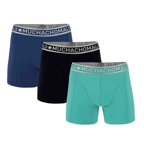 Muchachomalo Boxershort Solid257 (3-pack)