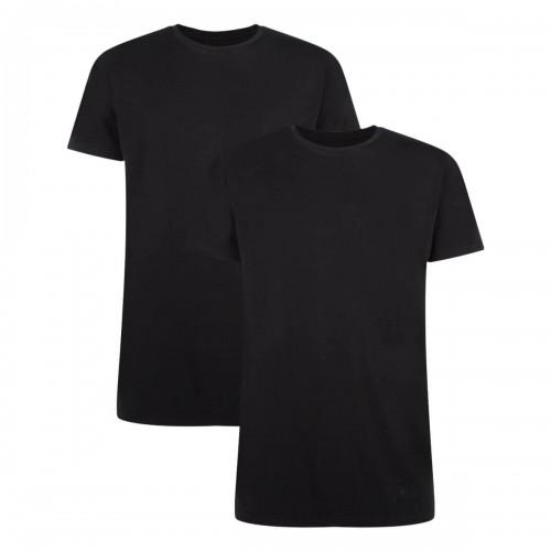 Bamboo Basics T-shirt Ruben-004 (zwart, 2-pack)
