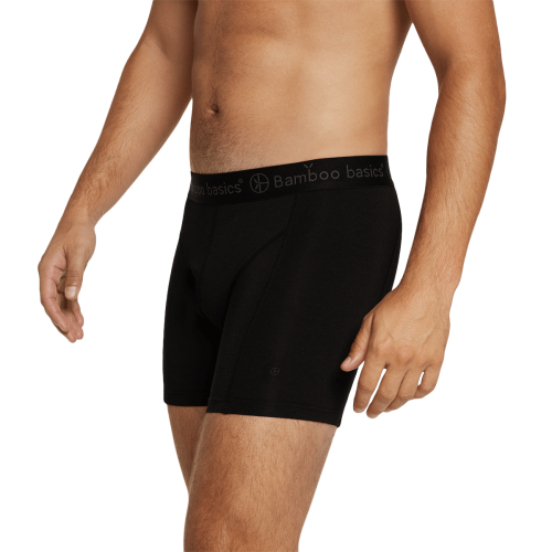 Bamboo Basics Boxershort Rico-010 (zwart-wit-grijs, 3-pack)
