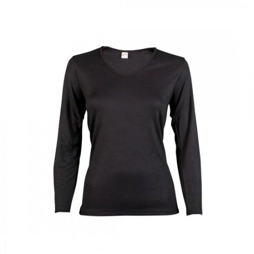35925f75d9b Beeren Thermo dames shirt (zwart)