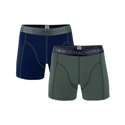 Muchachomalo Boxershort Solid163 (2-pack)