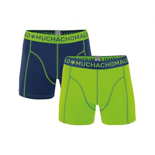Muchachomalo Boxershort Solid175 (2-pack)