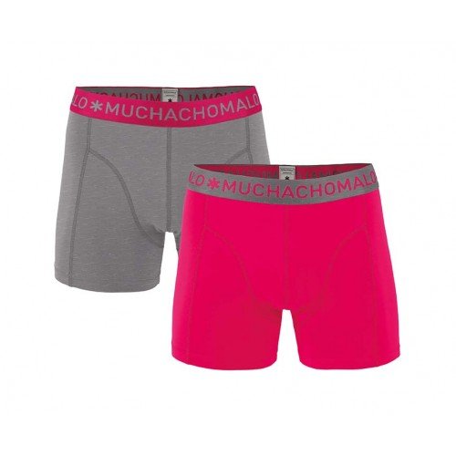 Muchachomalo Boxershort Solid178 (2-pack)