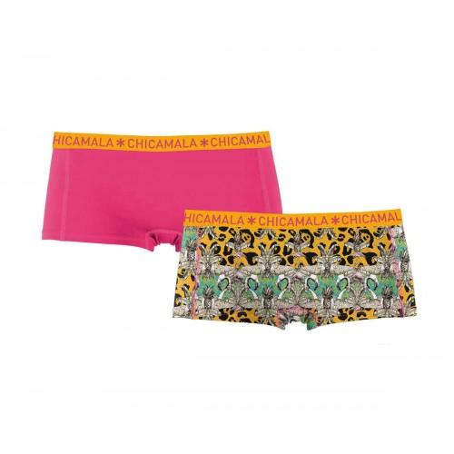 ChicaMala meisjes boxershort 1215ParaX01 (2-pack)