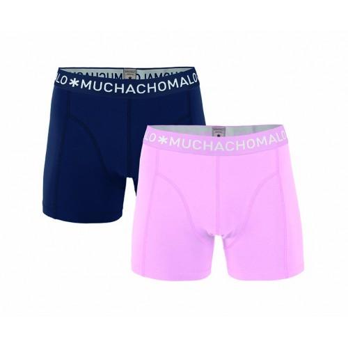 Muchachomalo Boxershort Solid208 (2-pack)