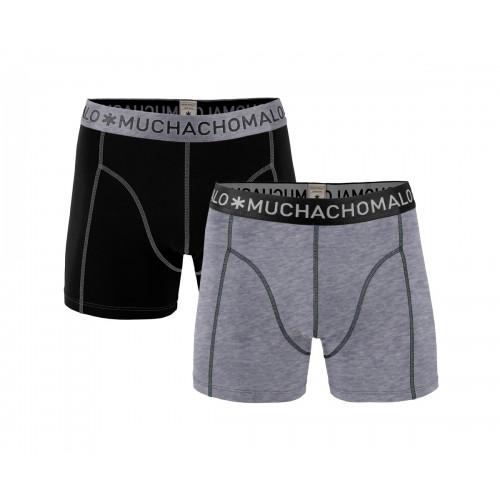 Muchachomalo Boxershort Solid162 (2-pack)
