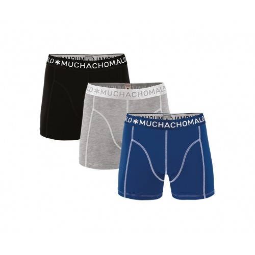 Muchachomalo Boxershort Solid187 (3-pack)