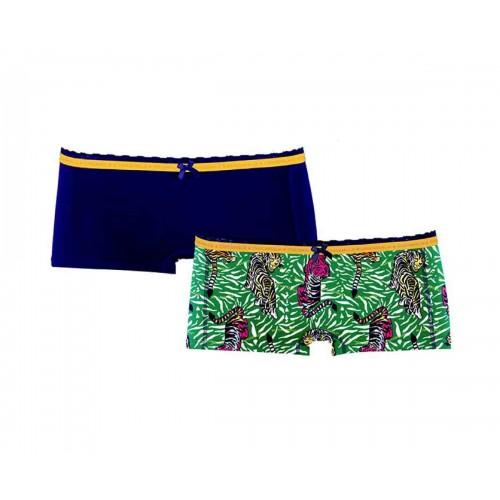 ChicaMala meisjes boxershort 1213Tigerx01 (2-pack)