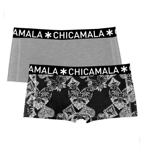 ChicaMala meisjes boxershort Casi1215-01J (2-pack)