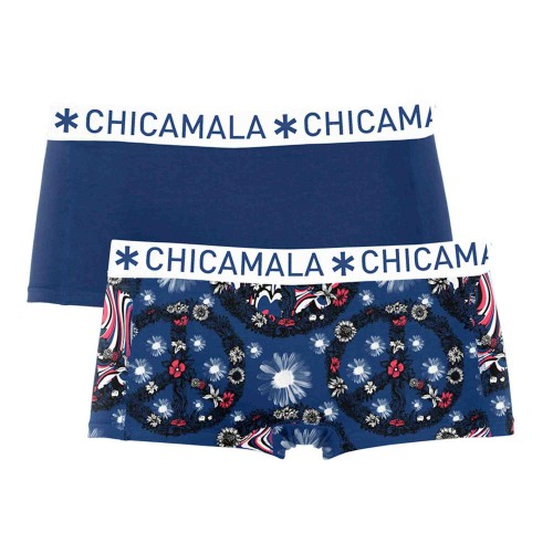 Chicamala dames boxershort Poflo1215-01 (2-pack)