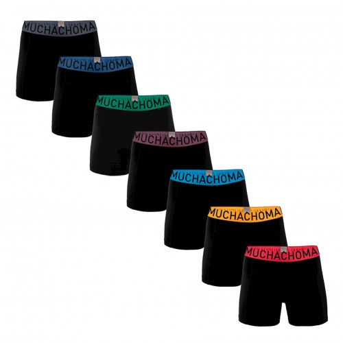 Muchachomalo Boxershort Solid343 (7pack)
