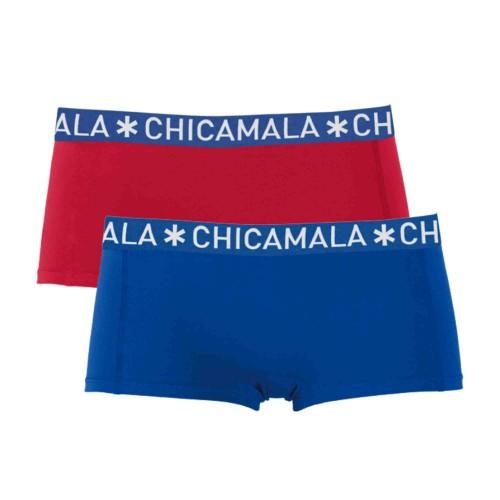 ChicaMala meisjes boxershort SOLID06 (2-pack)