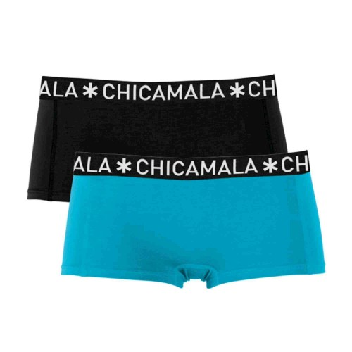 ChicaMala meisjes boxershort SOLID09 (2-pack)