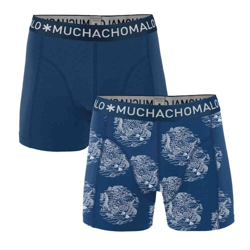 Muchachomalo Boxershort Fish Dots (2-pack)