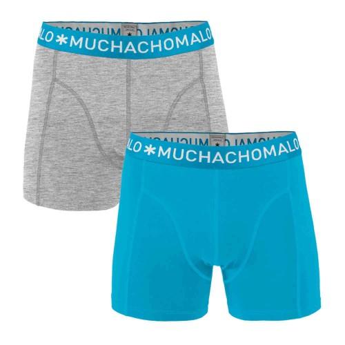 Muchachomalo jongens boxershort SOLID271 (2-pack)