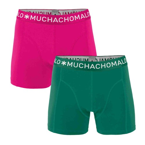 Muchachomalo Boxershort SOLID275 (2-pack)
