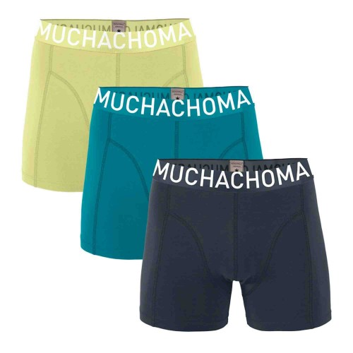 Muchachomalo Boxershort Solid317 (3-pack)