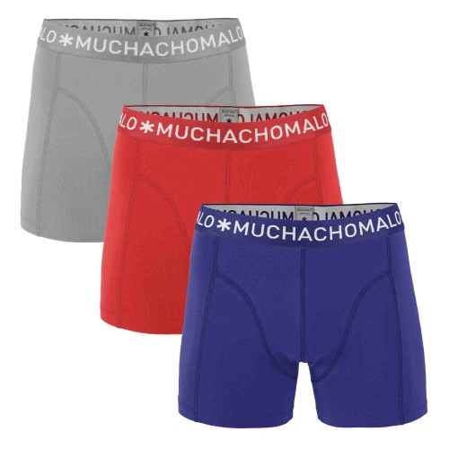 Muchachomalo Boxershort Solid255 (3-pack)