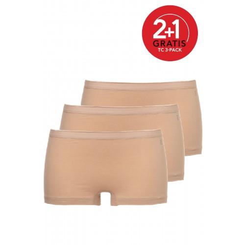 Ten Cate Women multipack Short huidskleur