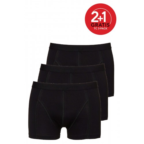Ten Cate Men Multipack Short zwart