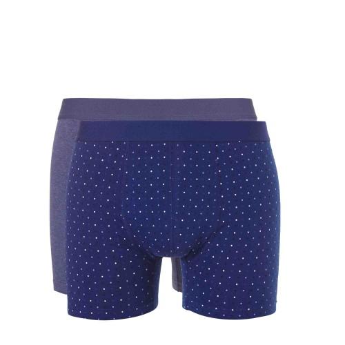 Ten Cate Men Short 2-pack 30684 (blue print-blue melee)