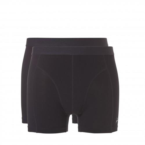 Ten Cate Men Basic bamboo shorts (zwart, 2-pack)