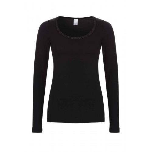 Ten Cate Thermo Women Shirt Lace zwart