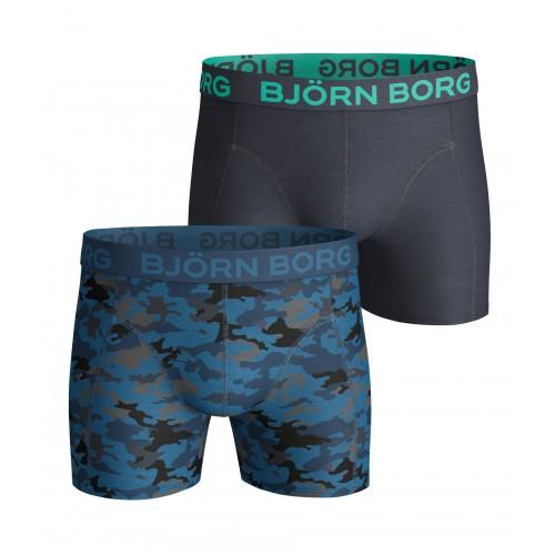 Björn Borg Boxershort Camo mykonos (2-pack)