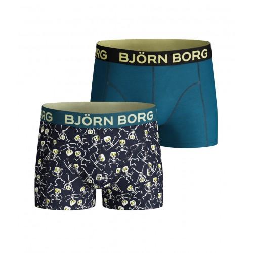 Björn Borg jongens boxershort Skeleton (1831-1309, 2-pack)