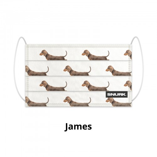 Snurk James mondkapje