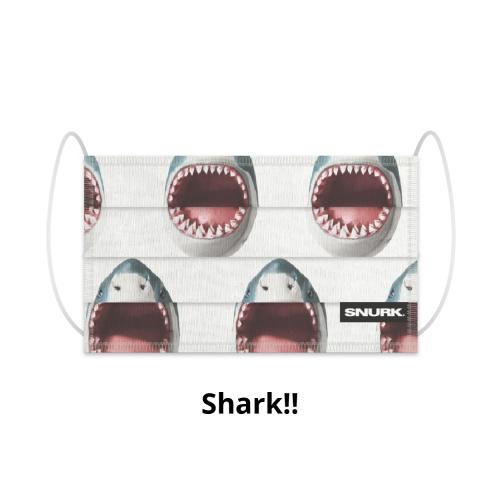Snurk Shark! mondkapje