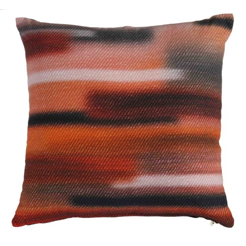 KAAT sierkussen Sweep Sweater (oranje, 43x43cm)